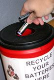 Recycle Your Batteries Here
